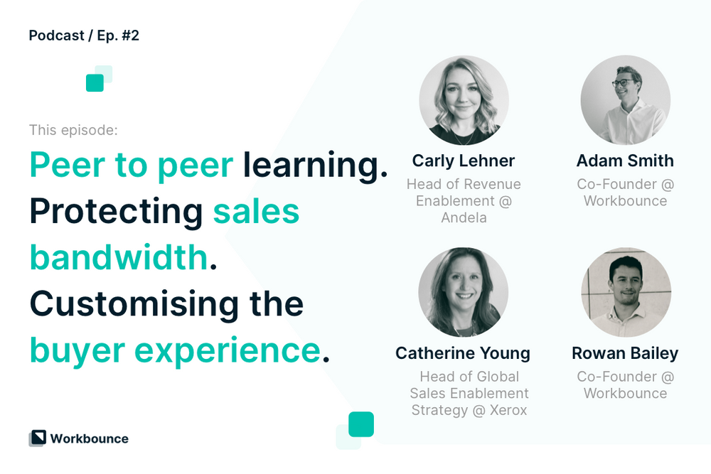 The Foundations of Sales Enablement with Catherine Young and Carly Lehner