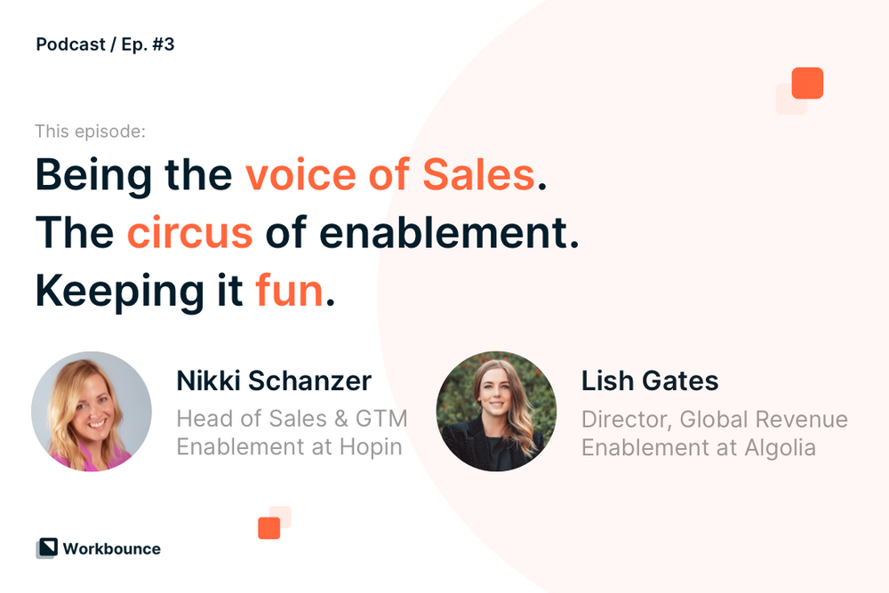 Collaborating and Building Enablement at Scale with Nikki Schanzer and Lish Gates